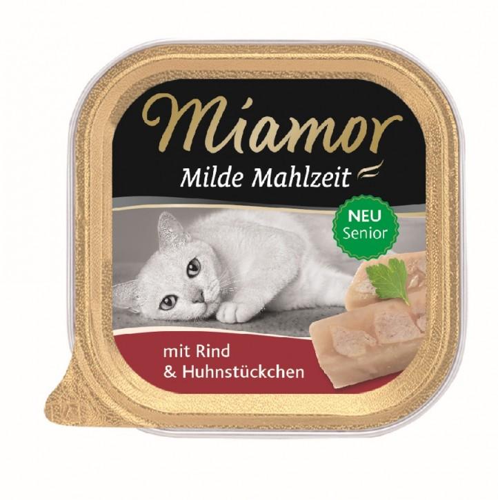 Miamor Milde Mahlzeit Senior mit Rind 100 g