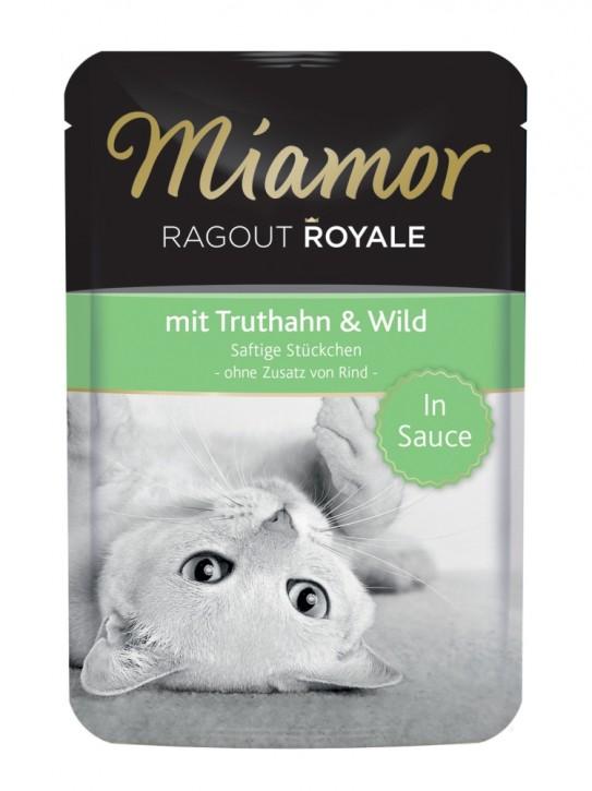 Miamor Ragout Royal mit Truthahn und Wild in Sauce 22 x 100 g