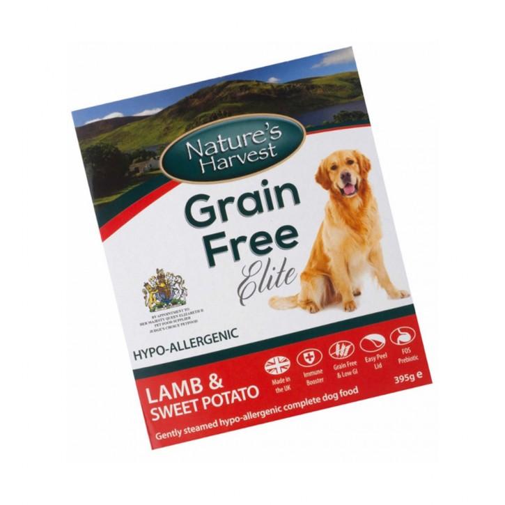 Natures Harvest Grain Free Elite Lamm und Süßkartoffel 395 g