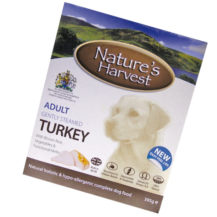 Natures Harvest Adult Truthahn & Vollkornreis 395 g