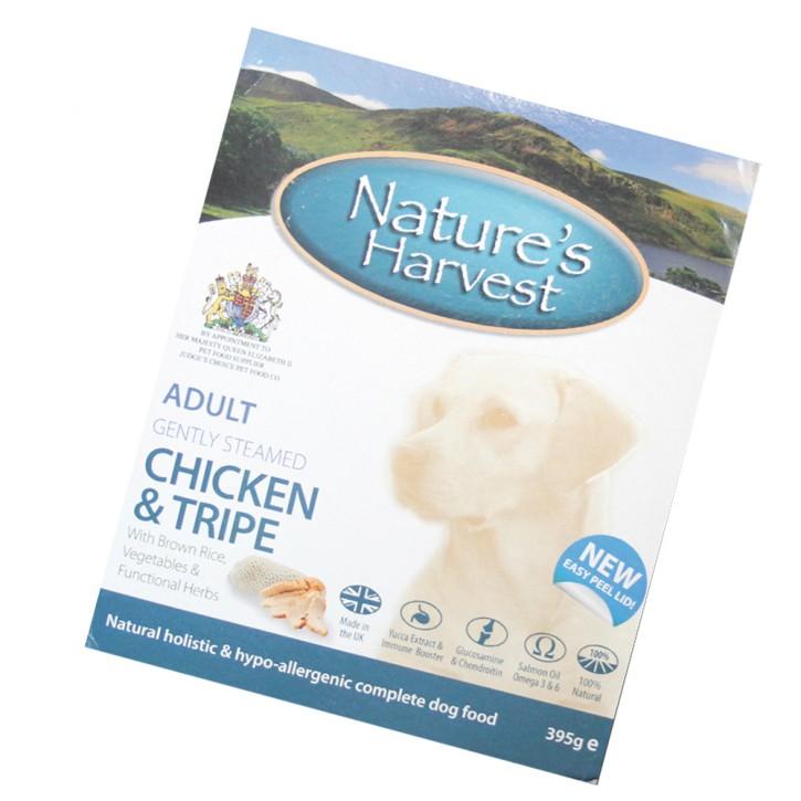 Natures Harvest Adult Hühnchen, Pansen & Vollkornreis 395 g