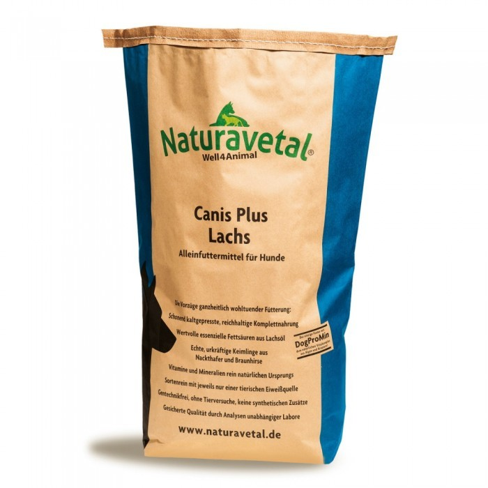 Naturavetal Canis Plus Lachs 5 kg oder 15 kg (SPARTIPP: unsere Staffelpreise)