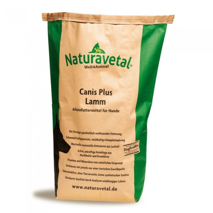 Naturavetal Canis Plus Lamm 5 kg oder 15 kg (SPARTIPP: unsere Staffelpreise)