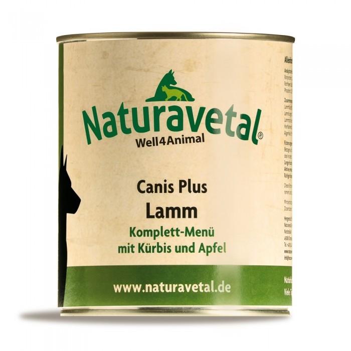 Naturavetal Canis Plus Lamm Komplett Menü 6 x 820 g