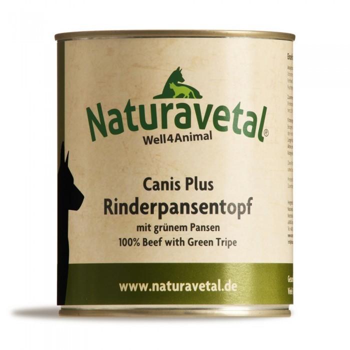 Naturavetal Canis Plus Rinderpansentopf 12 x 820 g
