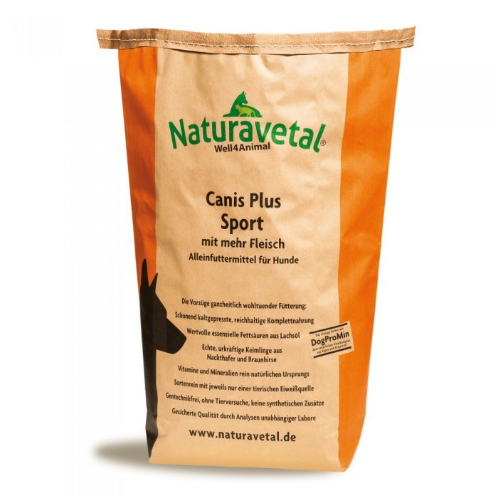 Naturavetal Canis Plus Sport 15 kg (SPARTIPP: unsere Staffelpreise)