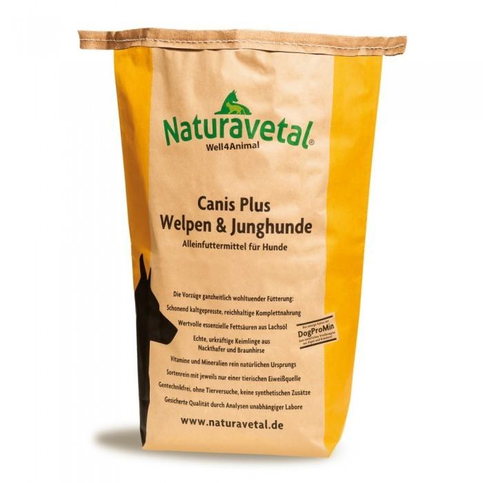Naturavetal Canis Plus Welpen & Junghunde 5 kg oder 15 kg (SPARTIPP: unsere Staffelpreise)