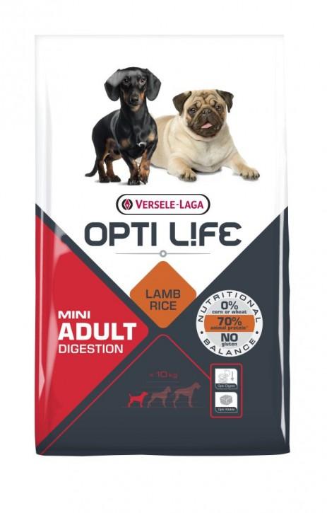 Opti Life Adult Digestion Mini 2,5 kg oder 7,5 kg (SPARTIPP: unsere Staffelpreise)