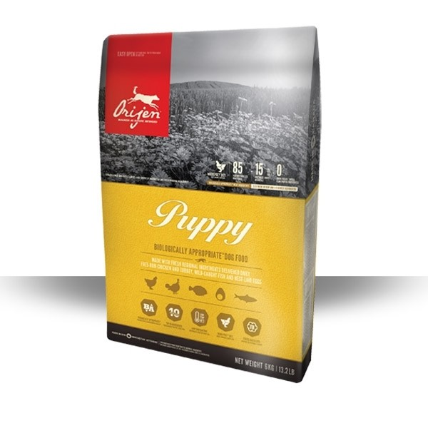 Orijen Dog Puppy Whole Prey 2 kg, 6 kg oder 11,4 kg (SPARTIPP: unsere Staffelpreise)