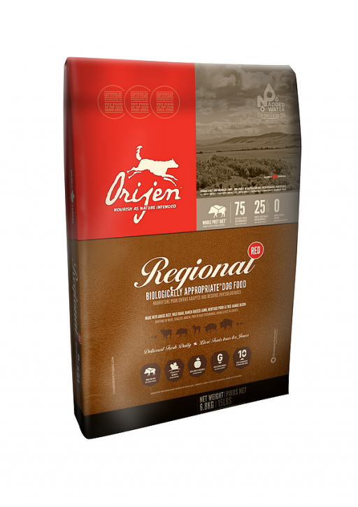 Orijen Dog Regional Red Whole Prey 2 x 11,4 kg (Staffelpreis)