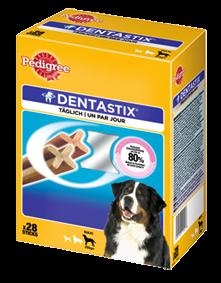 Pedigree Snack Dentastix Multipack für große Hunde 4 x 28 Stück