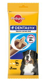 Pedigree Snack Dentastix für große Hunde 10 x 7 Stück