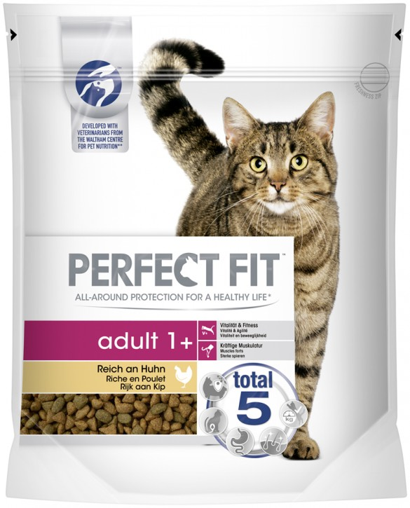 Perfect Fit Cat Adult reich an Huhn 1,4 kg