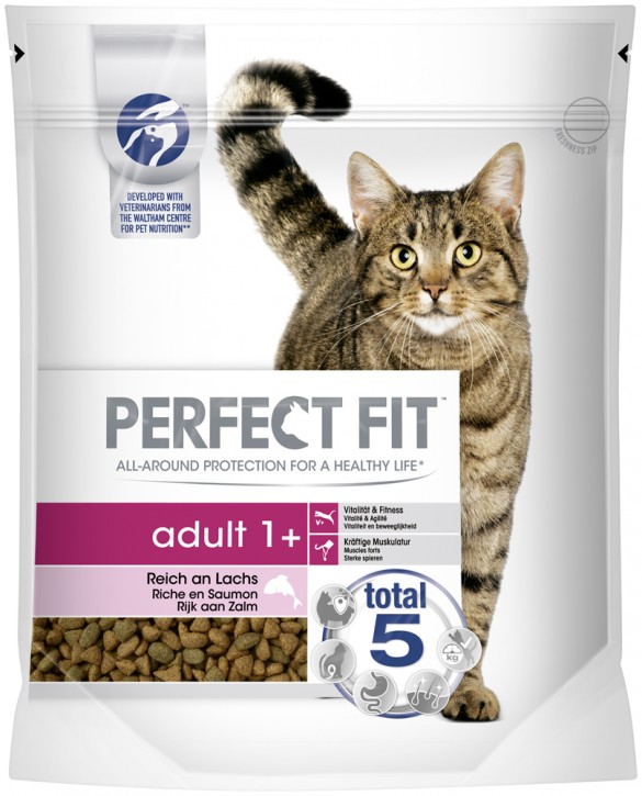 Perfect Fit Cat Adult reich an Lachs 750 g