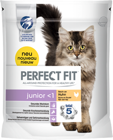 Perfect Fit Cat Junior reich an Huhn 750 g (SPARTIPP: unsere Staffelpreise)