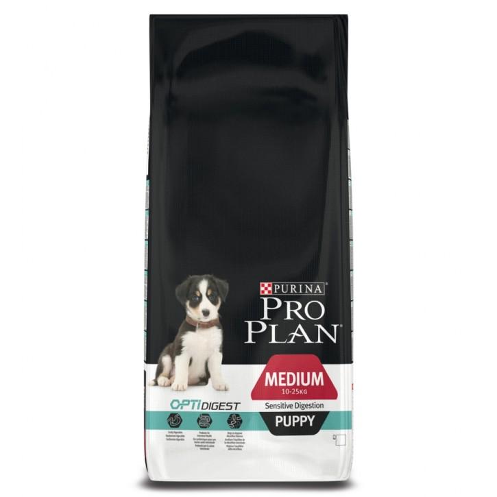 Pro Plan Dog Puppy Medium Sensitive Digestion 3 kg oder 12 kg (SPARTIPP: unsere Staffelpreise)