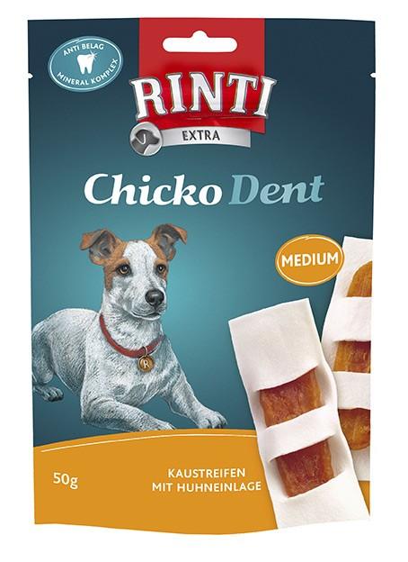 Rinti Extra Chicko Dent Medium mit Huhn 12 x 50 g