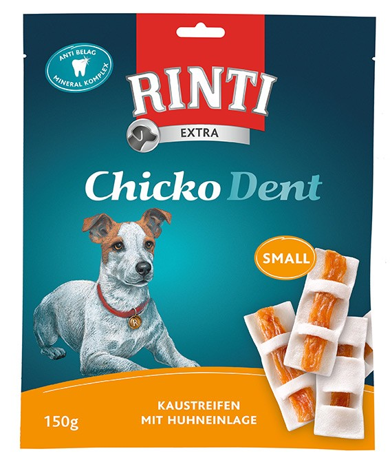 Rinti Extra Chicko Dent Small mit Huhn 9 x 150 g