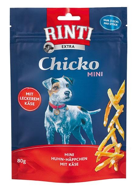 Rinti Extra Chicko Mini mit Huhn und Käse 12 x 80 g