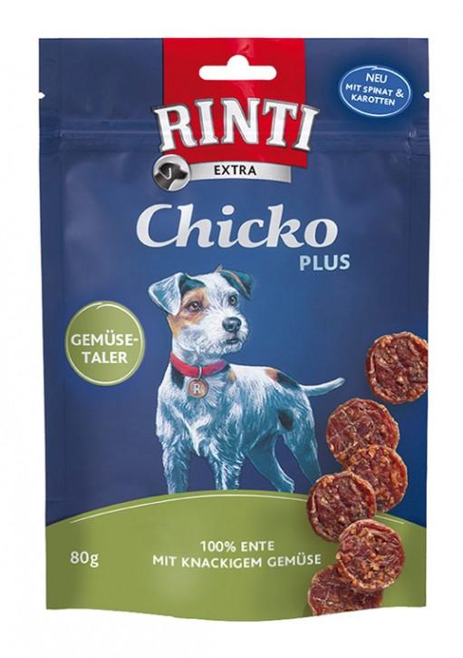 Rinti Extra Chicko Plus Gemüsetaler 12 x 80 g