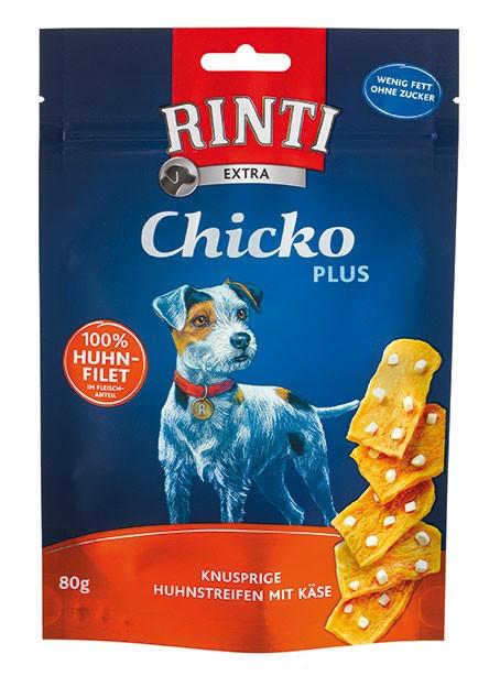 Rinti Extra Chicko Plus mit Huhn und Käse 12 x 80 g