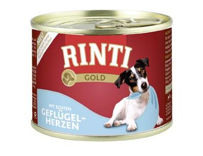 Rinti Gold Adult mit Geflügelherzen 12 x 185 g