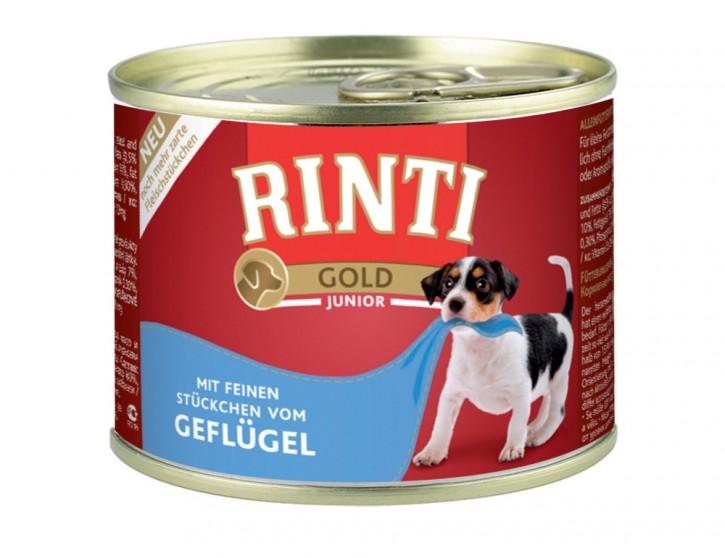 Rinti Gold Junior mit Geflügel 185 g