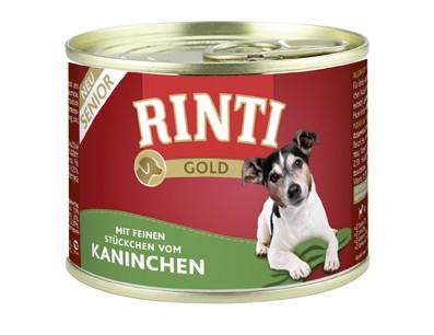 Rinti Gold Senior mit Kaninchen 185 g