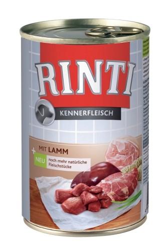 Rinti Kennerfleisch mit Lamm 24 x 400 g