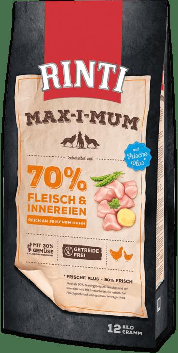 Rinti Max-i-mum Huhn 4 x 12 kg (Staffelpreis)
