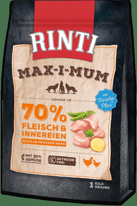 Rinti Max-i-mum Huhn 1 kg, 4 kg oder 12 kg (SPARTIPP: unsere Staffelpreise)