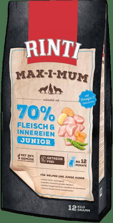 Rinti Max-i-mum Junior 2 x 12 kg (Staffelpreis)