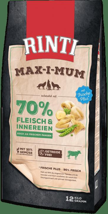 Rinti Max-i-mum Pansen 4 x 12 kg (Staffelpreis)