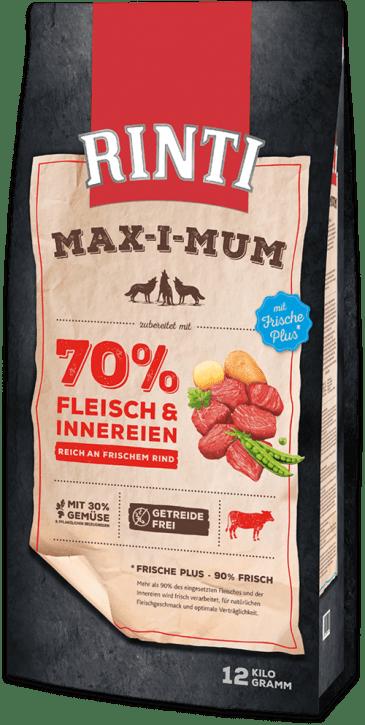 Rinti Max-i-mum Rind 4 x 12 kg (Staffelpreis)