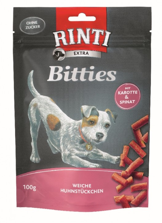 Rinti Extra Bitties mit Karotte und Spinat 12 x 100 g