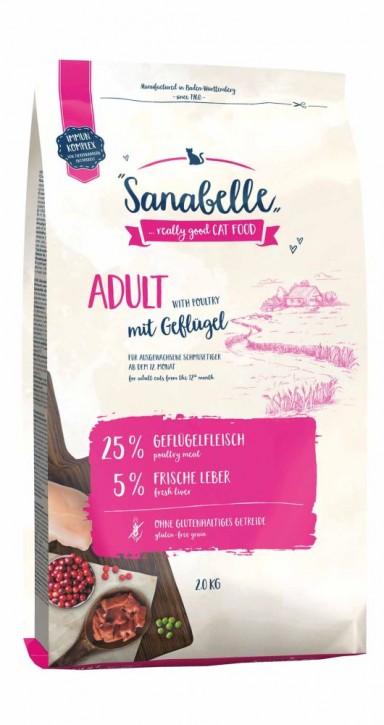 Sanabelle Adult Geflügel 400 g, 2 kg oder 10 kg (SPARTIPP: unsere Staffelpreise)