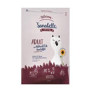 Sanabelle Delicious Rehwild & Kartoffel 400 g oder 2 kg (SPARTIPP: unsere Staffelpreise)