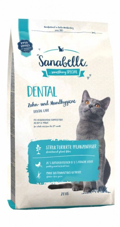 Sanabelle Dental 400 g, 2 kg oder 10 kg (SPARTIPP: unsere Staffelpreise)