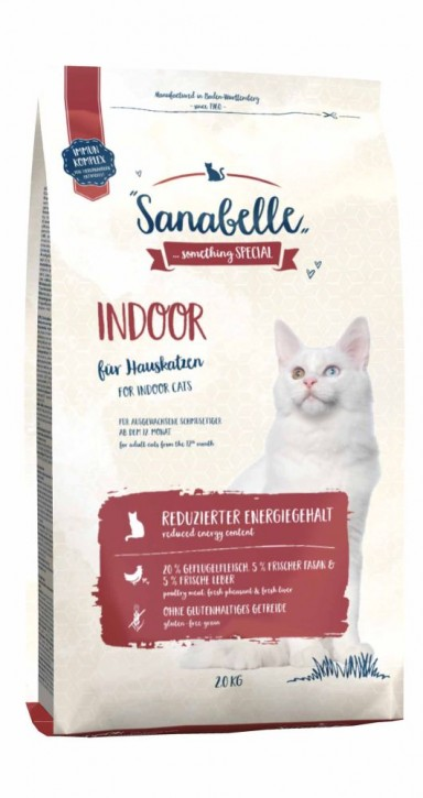 Sanabelle Indoor 400 g, 2 kg oder 10 kg (SPARTIPP: unsere Staffelpreise)