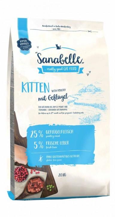 Sanabelle Kitten 400 g, 2 kg oder 10 kg (SPARTIPP: unsere Staffelpreise)
