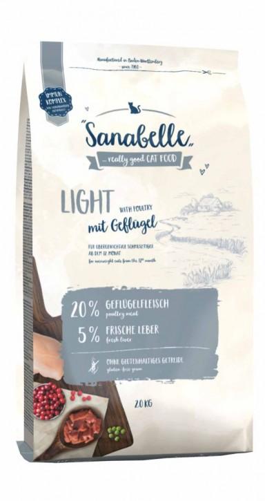 Sanabelle Light 400 g, 2 kg oder 10 kg (SPARTIPP: unsere Staffelpreise)