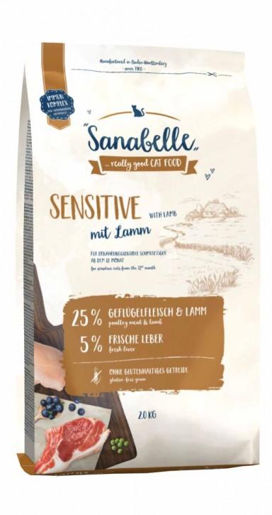 Sanabelle Sensitive mit Lamm 400 g, 2 kg oder 10 kg (SPARTIPP: unsere Staffelpreise)
