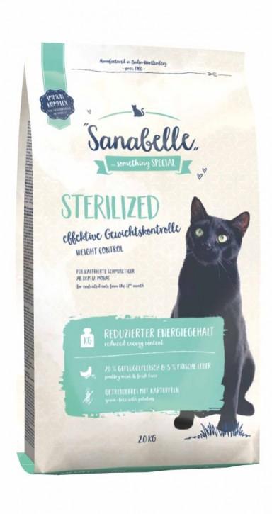Sanabelle Sterilized 400 g, 2 kg oder 10 kg (SPARTIPP: unsere Staffelpreise)
