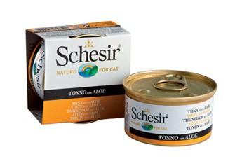 Schesir Cat Jelly Thunfisch mit Aloe 24 x 85 g