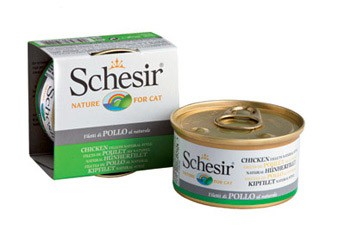 Schesir Cat Natural Hühnerfilet 14 x 85 g