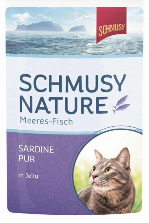 Schmusy Sardine pur in Jelly 24 x 100 g