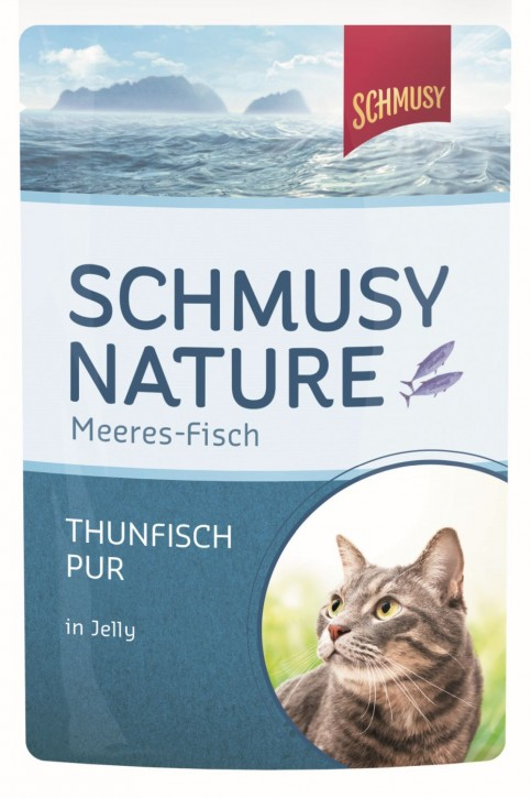 Schmusy Thunfisch pur in Jelly 24 x 100 g