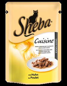 Sheba Cuisine mit Huhn in Sauce 12 x 85 g