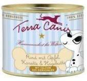 Terra Canis für Welpen Rind mit Apfel, Karotte und Hagebutte 12 x 400 g