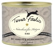 Terra Faelis Rind mit Karotte und Brunnenkresse 400 g